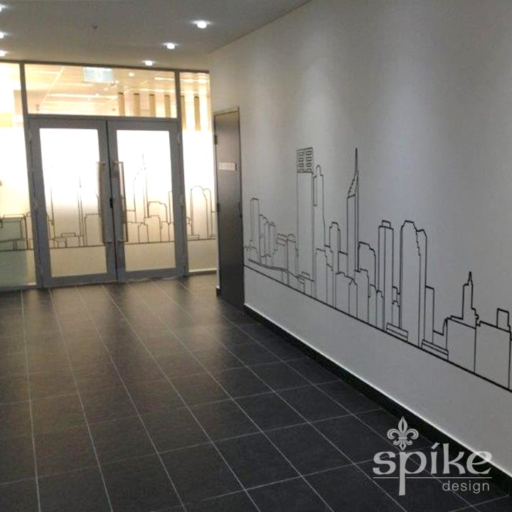 Perth Sign Installers: Pascoe Interior Office Graphics and Window Frosting, Perth, Western Australia