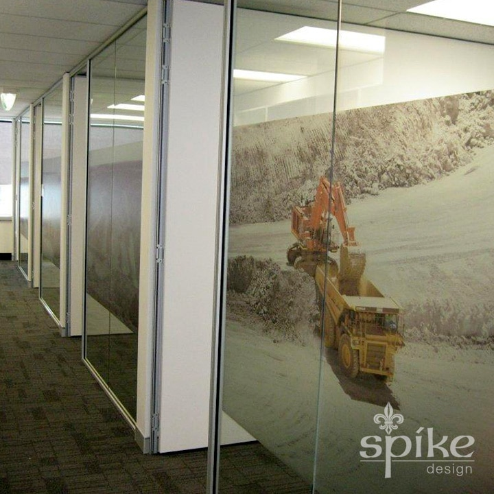 Perth Sign Installers: Catalpa Window Frosting Interior Office Graphics, Perth, Western Australia