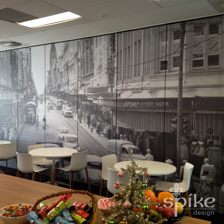 Perth Sign Installers: Digital Print Interior Office Graphics, Perth, Western Australia